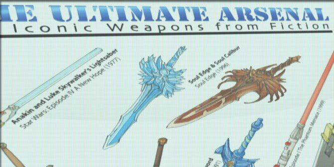 What Are Fiction's Most Iconic Weapons?