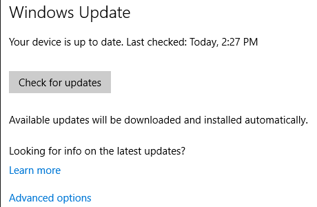 How to check what was last updated from windows windows updates keep installing