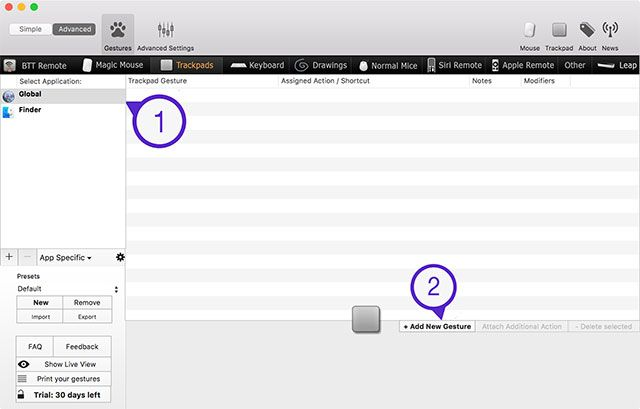 Why OS X Works Better with a Trackpad bettertouchtool