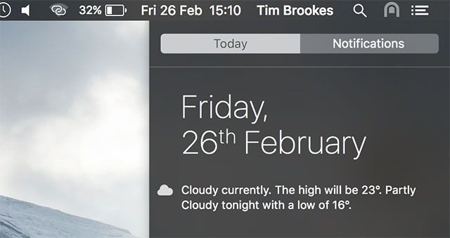 Why OS X Works Better with a Trackpad notification centre