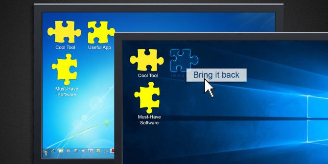 5 Lost Features You Can Resurrect in Windows 10