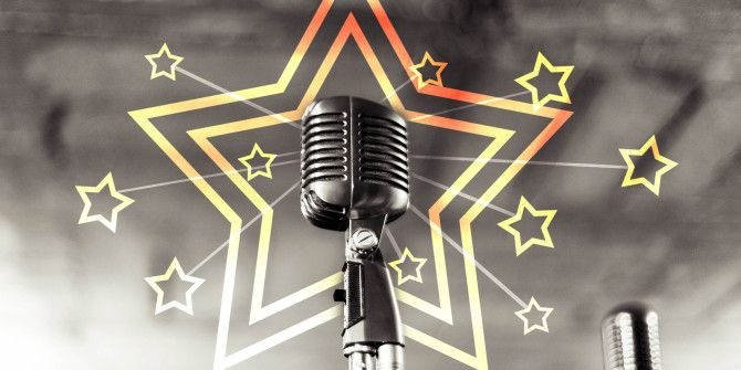 6 Sparkling Star-Lit Social Networks for Singers
