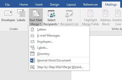 How to print labels with mail merge in microsoft word and excel start mail merge colourmoves