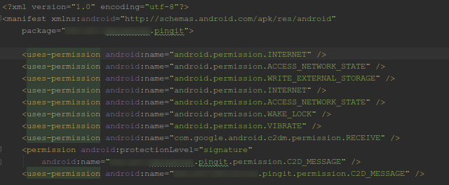 Android-Code-Permissions