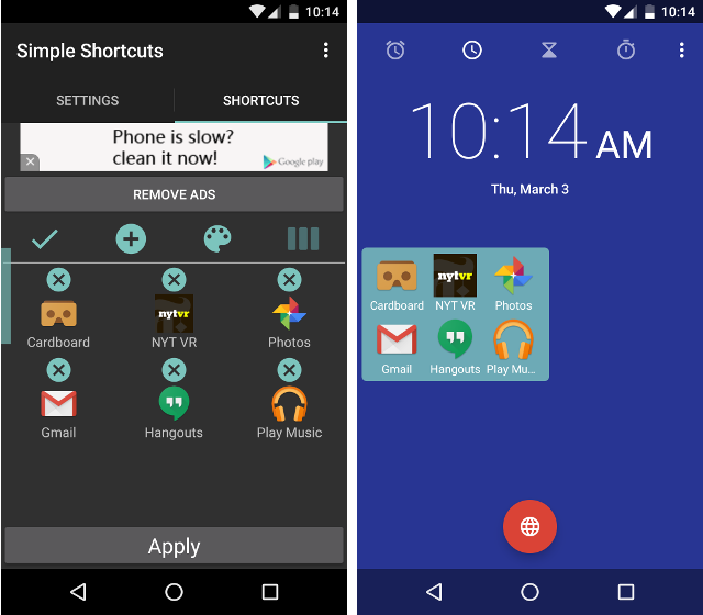Image result for simple shortcuts app