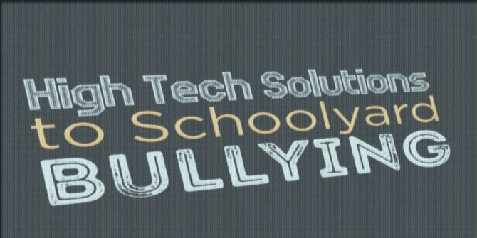 How has Technology Helped With School Bullying?