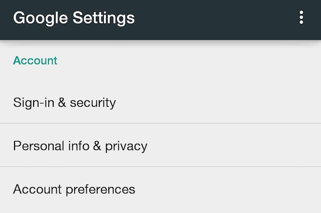 Google-Settings-Account
