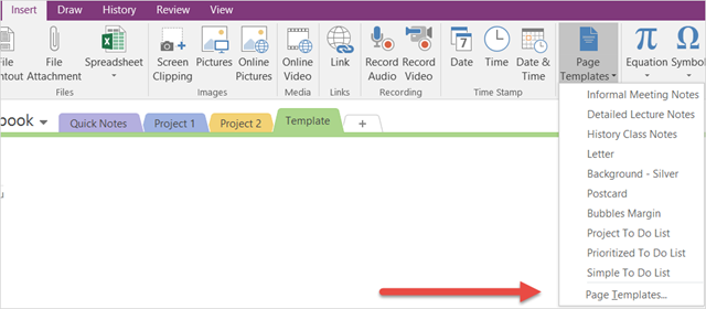 How to Adopt OneNote Templates for Project Management