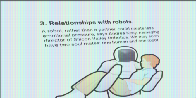 What Might Dating Be Like in 2040?