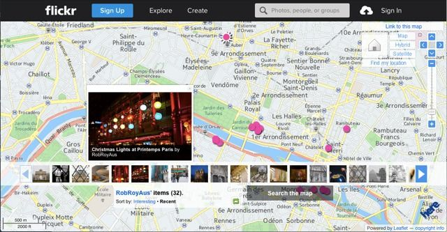 flickr-map