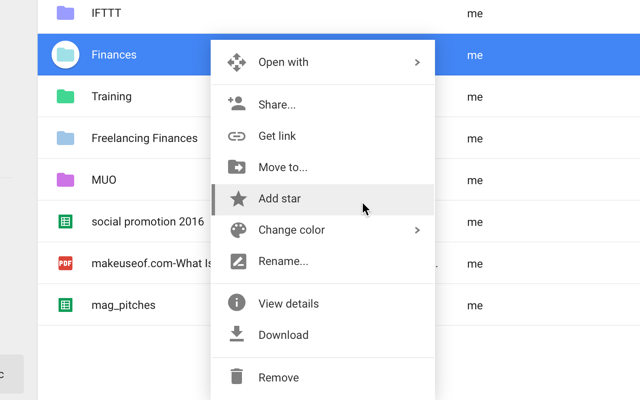 google-drive-add-star