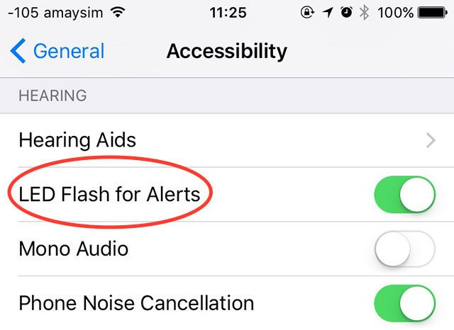 Take Control of iOS Notifications on Your iPhone or iPad led flash