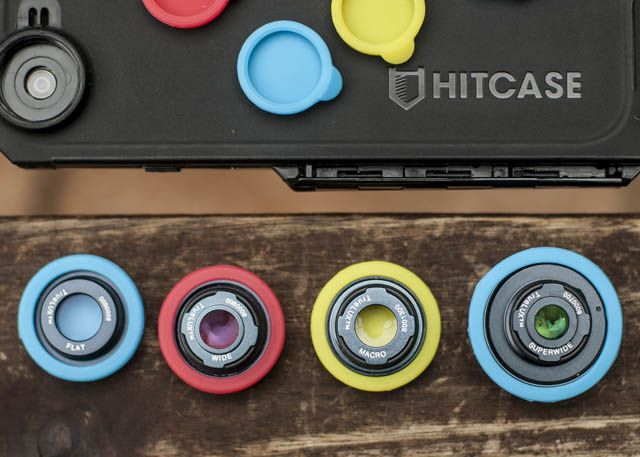 Hitcase Pro for iPhone Review lenses 4