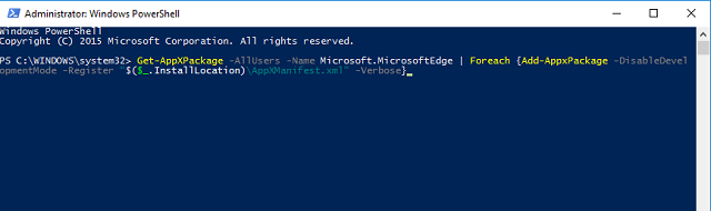 powershell-edge