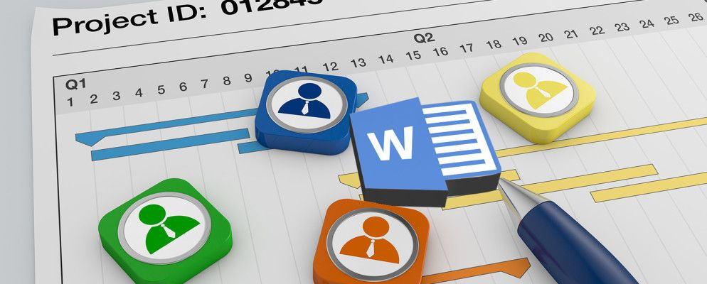 How to Manage Your Project with Word Templates