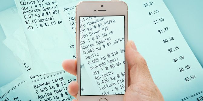 Scan receipts get cash back