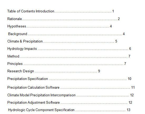 10 best table of contents templates for microsoft word table of contents 4 c friedricerecipe Images