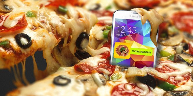 How Ordering Food with Your Phone Can Ruin Your Health
