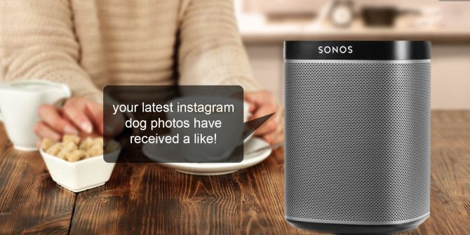 How to Send Voice Notifications to Sonos Speakers