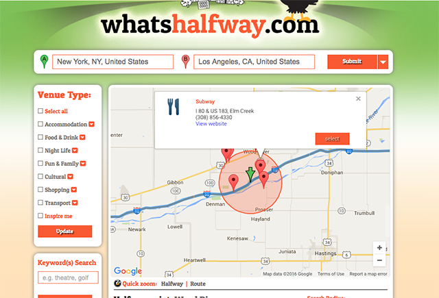 5 Apps to Find Halfway Points to Meet with Faraway Friends