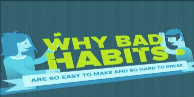 What Makes a Bad Habit Hard to Break but Easy to Start?