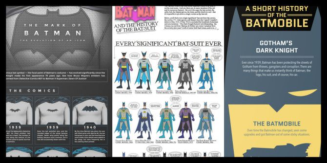 3 Batman Infographics That'll Expand Your Dark Knight Knowledge