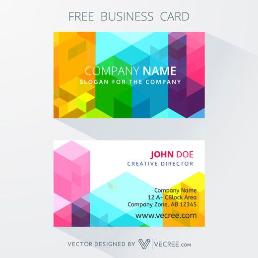 30 free business card templates for every profession business cards for graphic designers reheart Choice Image
