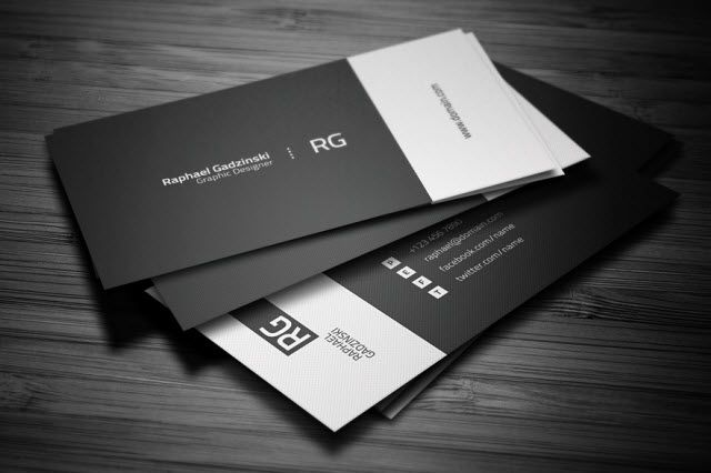 Business Cards for Social Media Strategists