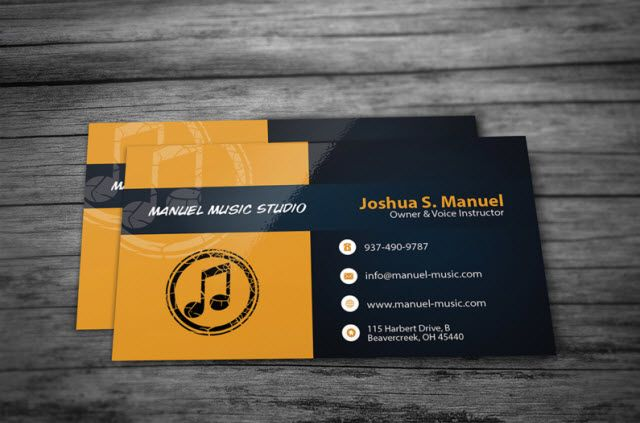 Free Business Card Templates For Every Profession