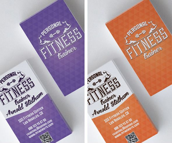 Business Cards for Personal Trainers