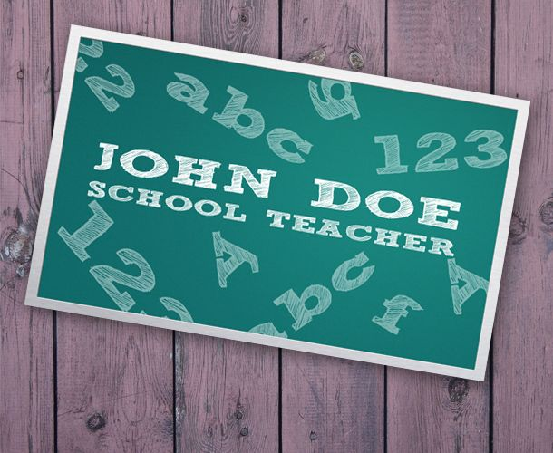 30 free business card templates for every profession the well known teacherspayteachers also has a few free educational business card templates which you might like to try out nothing fancy though wajeb