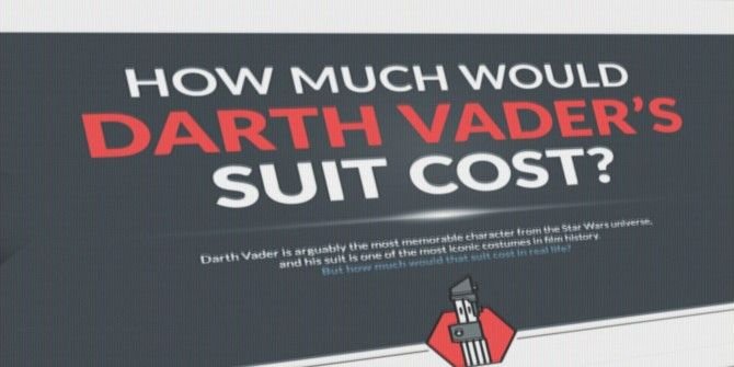 How Much Would It Cost to Make Darth Vader's Suit?
