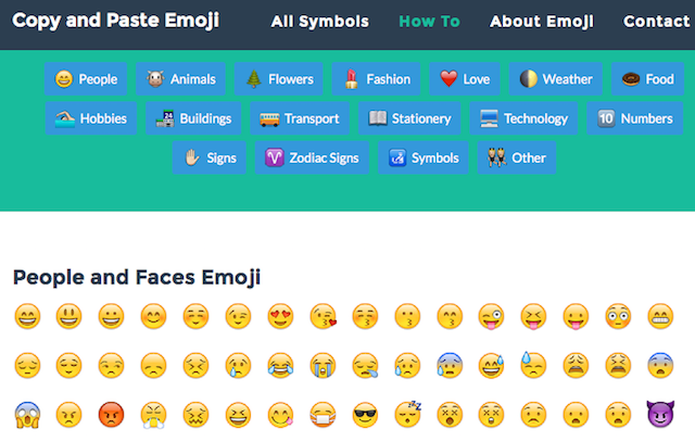 Emojis-Text-Faces-Emoticons-Copy-and-Paste-Emoji