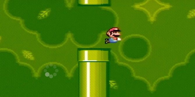Watch This Guy Play Flappy Bird In Super Mario World on SNES
