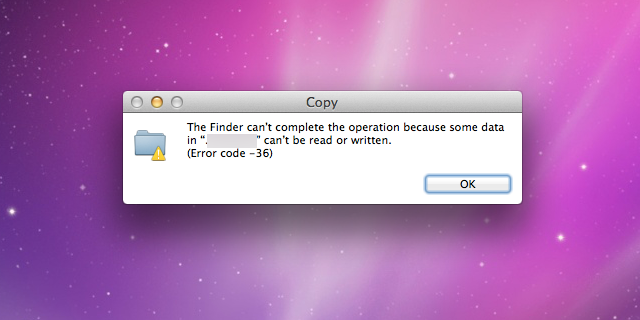 One Symptom of Failing SSD is when files can't be written or read