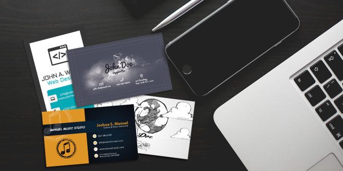 30 free business card templates for every profession accmission Images