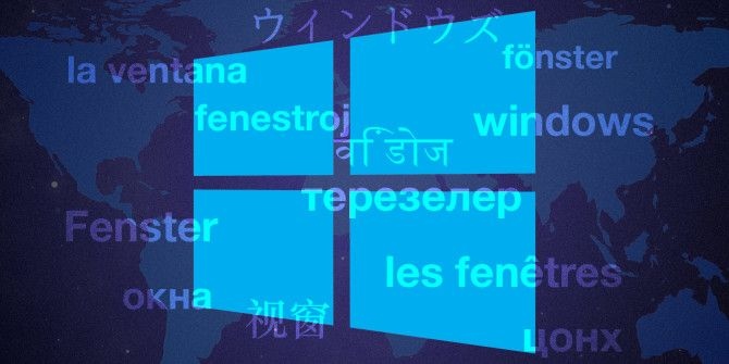 How to Change the Default Language & Region in Windows 10