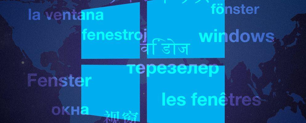 How to Change the Default Language & Region in Windows 10