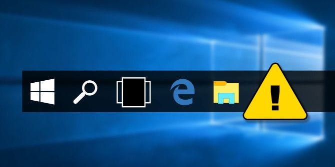 5 Steps to Fix Your Windows 10 Taskbar Issues