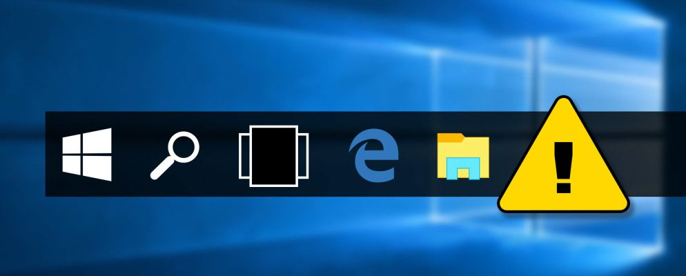 taskbar not disappearing windows 10