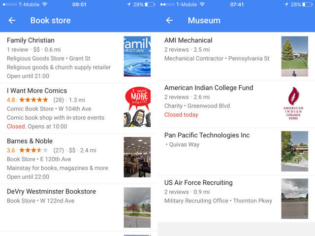 google-maps-book-stores-museums