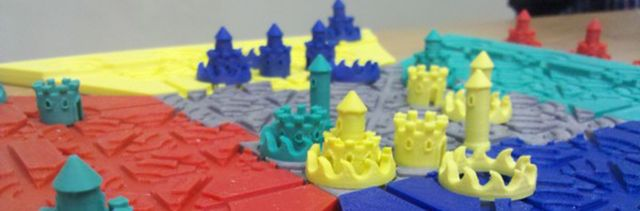 3D Printed Troke Pieces in Play