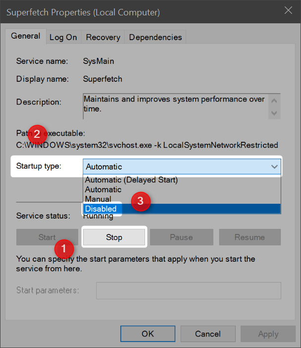 How RAM Compression Improves Memory Responsiveness in Windows 10 switch superfetch disabled