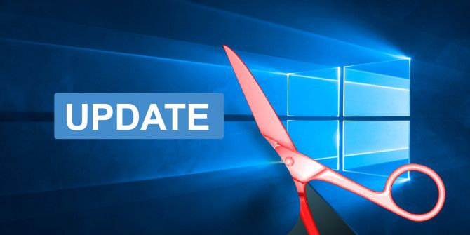 7 Ways to Temporarily Turn Off Windows Update in Windows 10