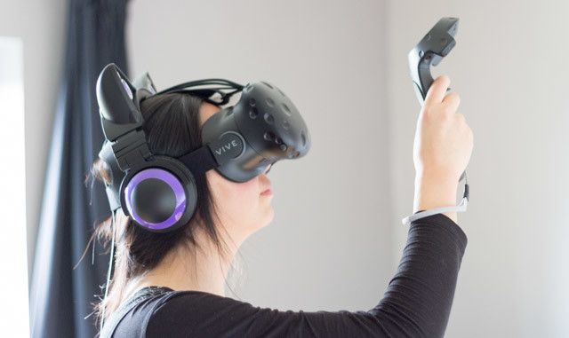 vive - controllers