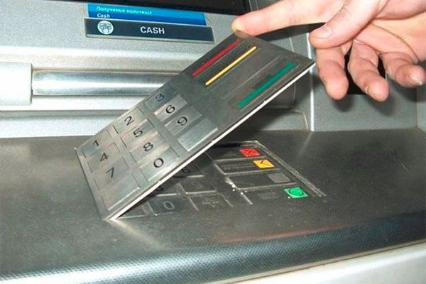 ATM Fake Number Pad