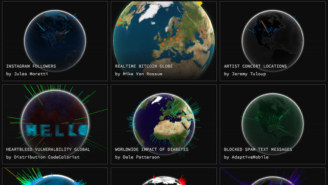 Chrome-Experiments-WebGL-Globe