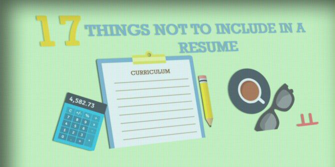 Is Your Resume Flawless? Not If It Includes These 17 Things