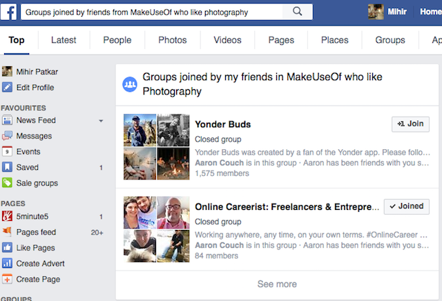 Facebook-groups-search-joined-by-makeuseof-photography