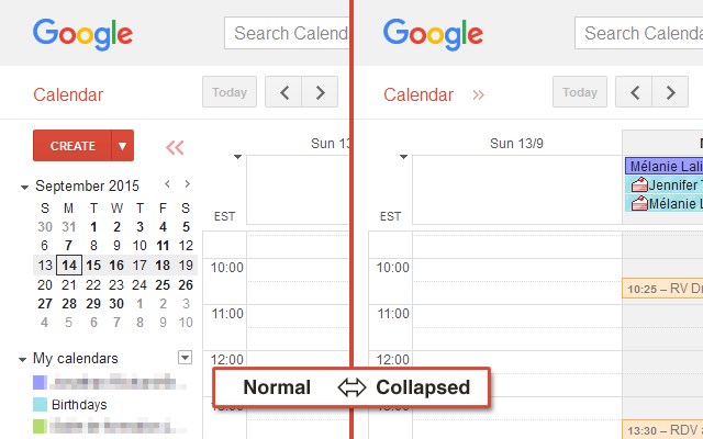 Google-Calendar-Chrome-Extension-Collapsible-Nav